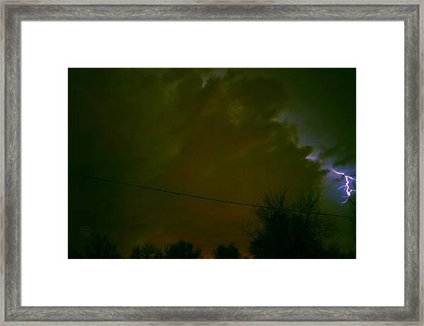 The Storm 2.8 Framed Print