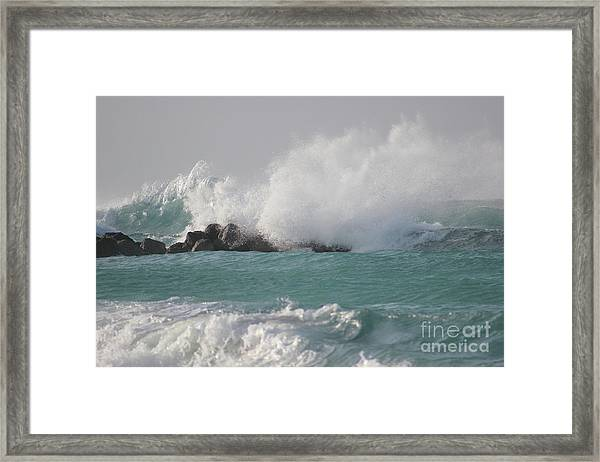 The Storm In My Head Framed Print