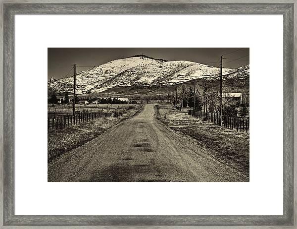 The Street Where Roo Lives Framed Print