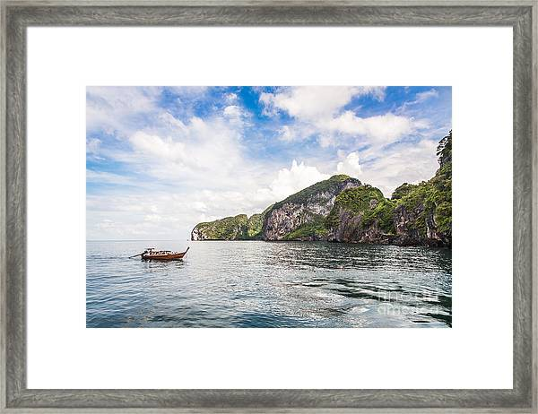 The Stunning  Koh Mook In The Trang Island Framed Print