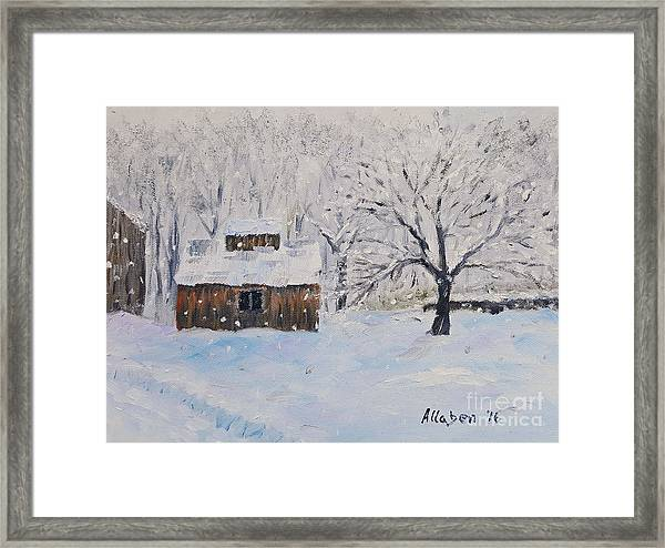 The Sugar House Framed Print