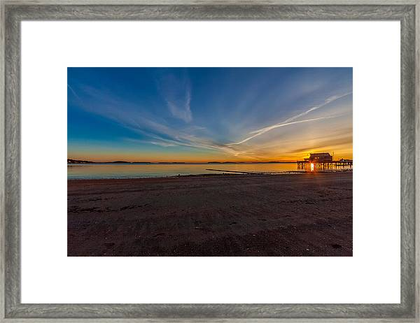 The Sun Also Rises Framed Print