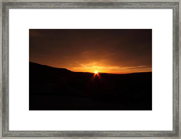 The Sun Will Come Out Framed Print