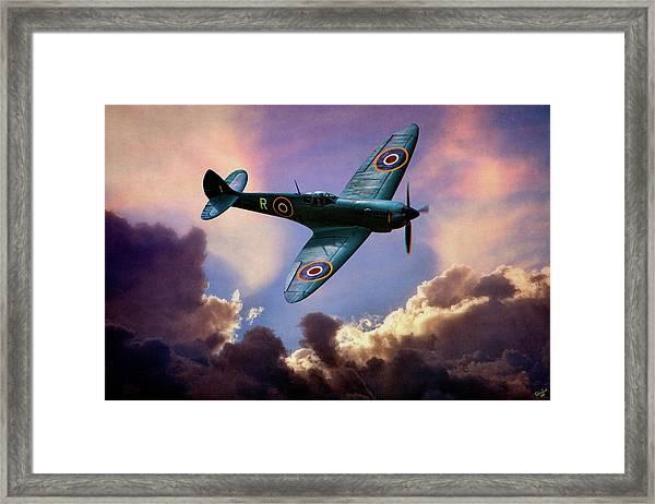 The Supermarine Spitfire Framed Print