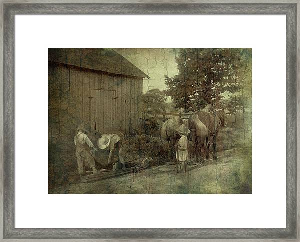 The Supervisor Framed Print