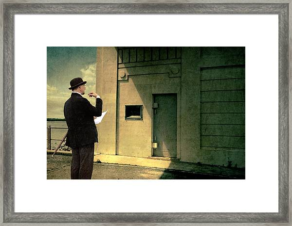 The Surveyor Framed Print