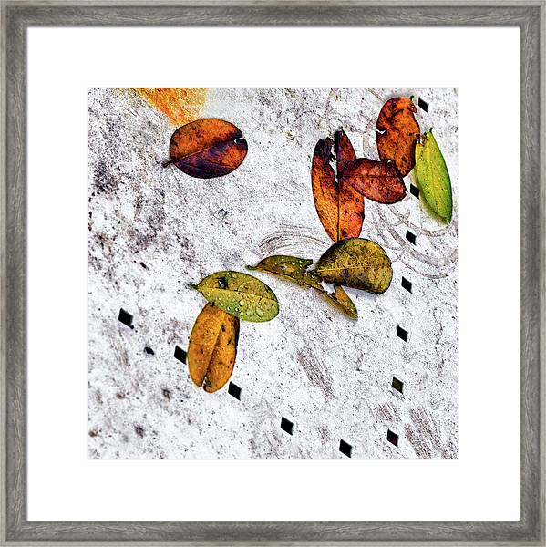The Table Top Framed Print
