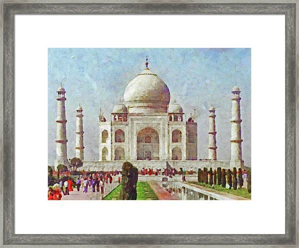 The Taj Mahal Framed Print
