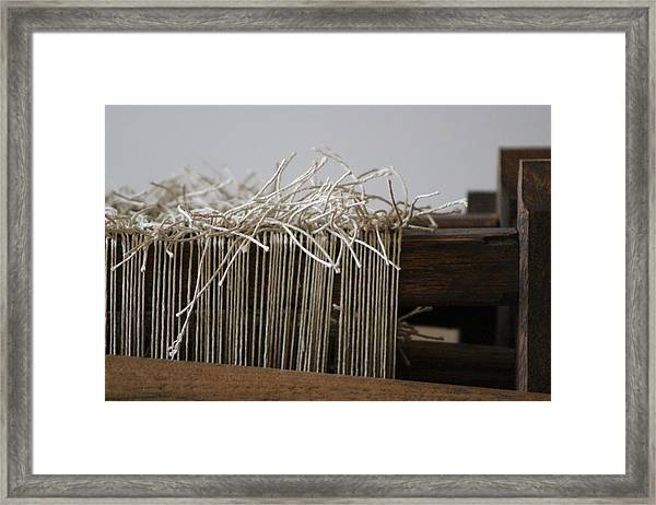 The Tales We Weave In Sepia Photograph Framed Print