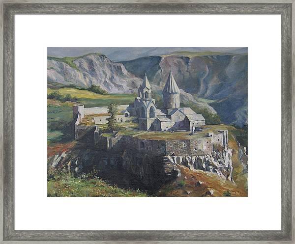 The Tatev Monastery Framed Print