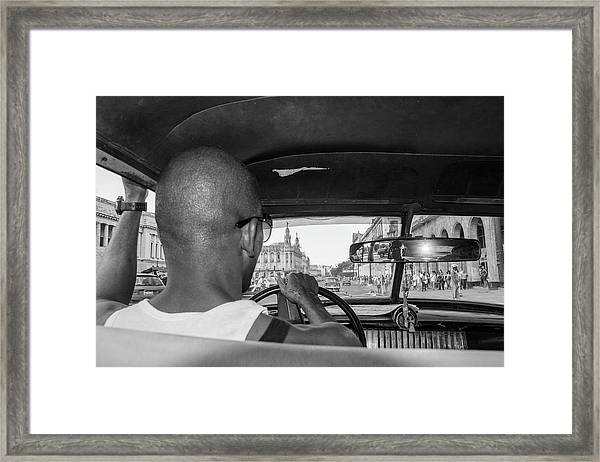 From The Taxi Framed Print