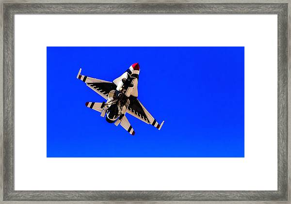 The Team Usaf Thunderbirds Framed Print