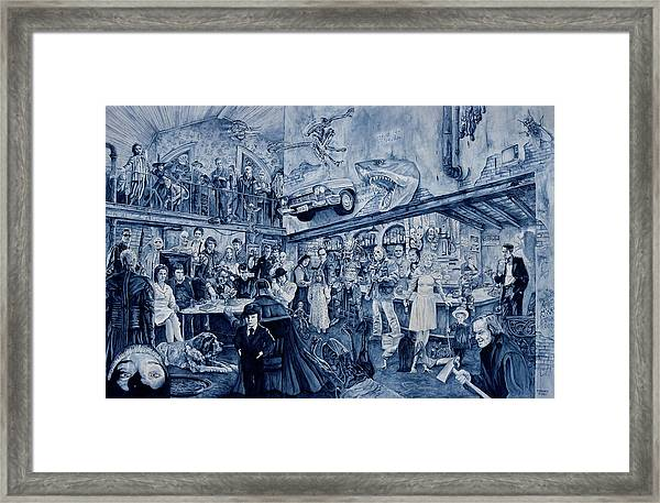 the Terrible Tavern Framed Print