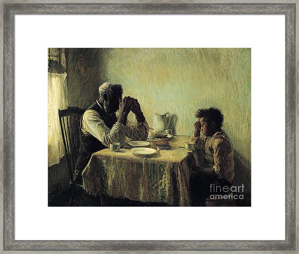 The Thankful Poor Framed Print