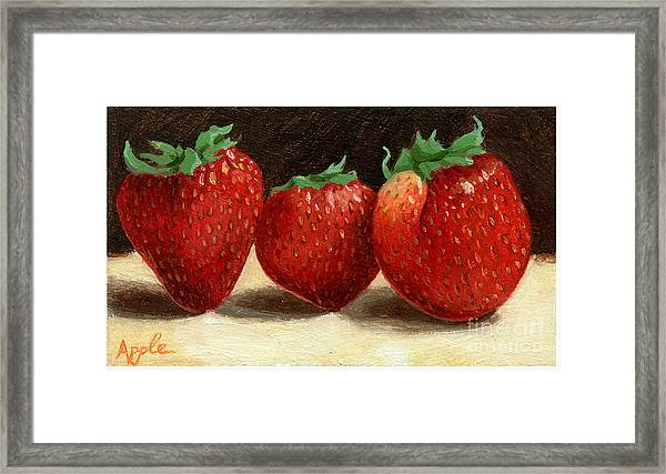 The Three Graces Framed Print by Linda Apple
