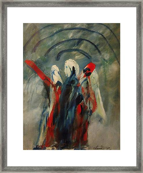 The Three Kings Of Christmas Framed Print