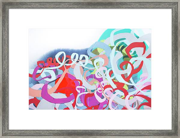 The Thrill Of It All Framed Print