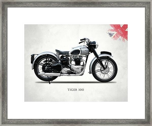 The Tiger 100 1949 Framed Print
