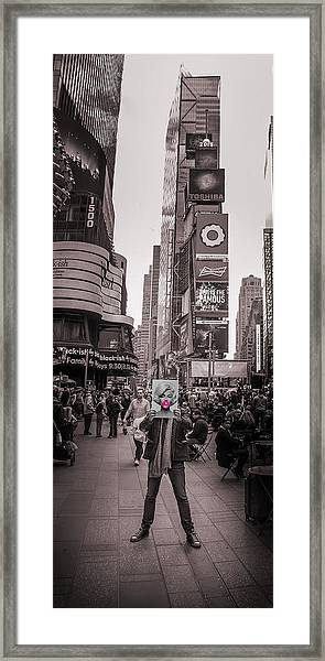 The Times Of Marilyn Framed Print