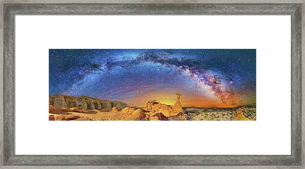 The Toadstool Framed Print