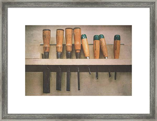 The Tools Of The Trade Framed Print