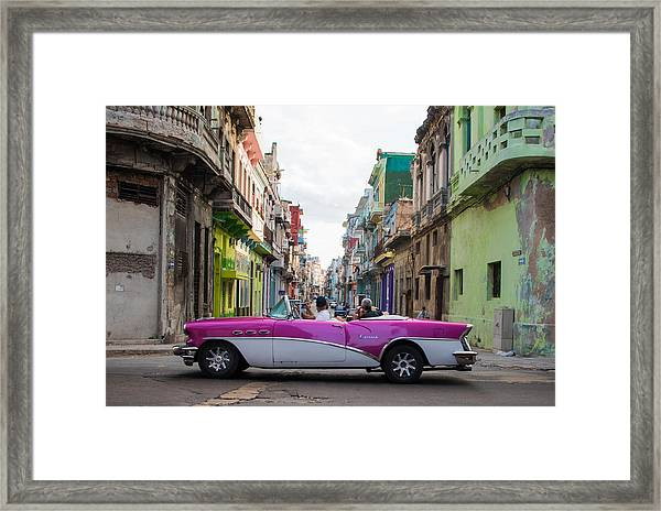 The Tourist Trap Framed Print