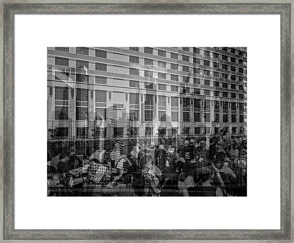 The Tourists - Chicago 04 Framed Print
