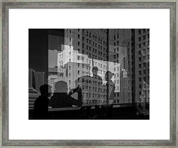 The Tourists - Sfmoma Framed Print