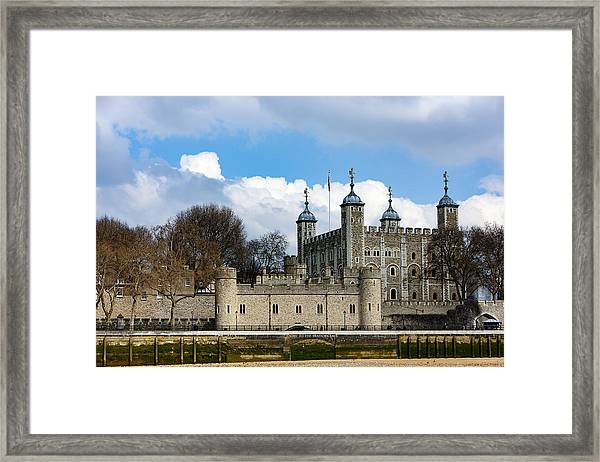 The Tower Of London Framed Print