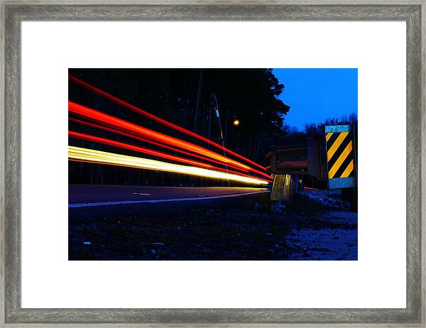 The Trail To... Framed Print