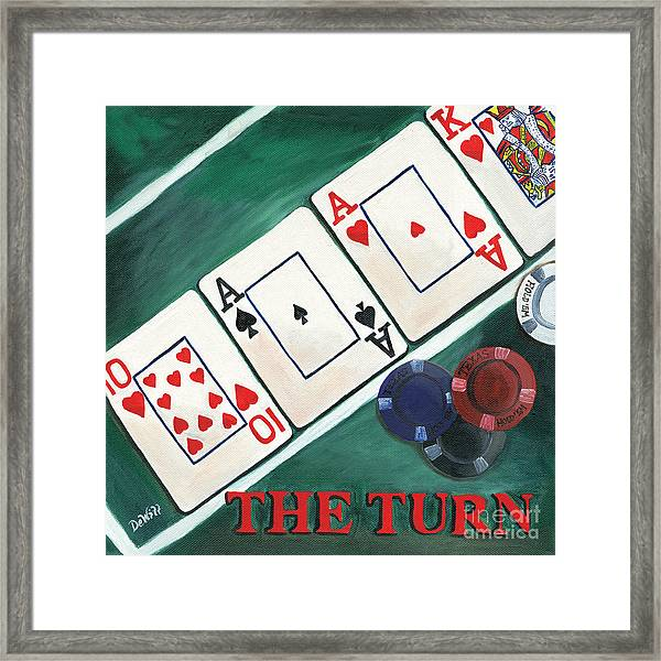 The Turn Framed Print