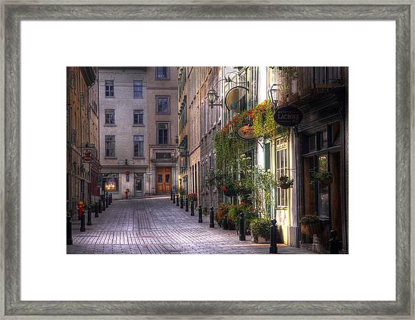 The Unbearable Lightness Of Being  Framed Print