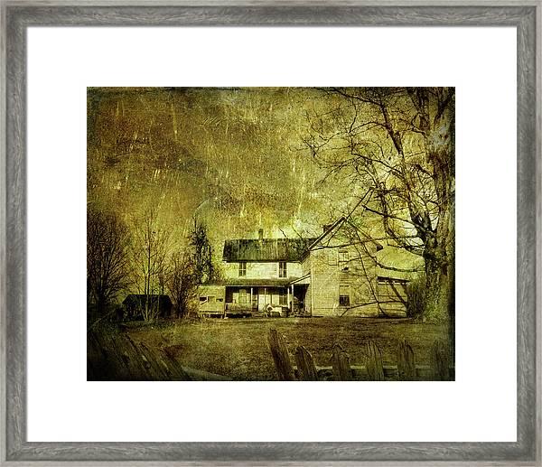 The Uninvited Framed Print