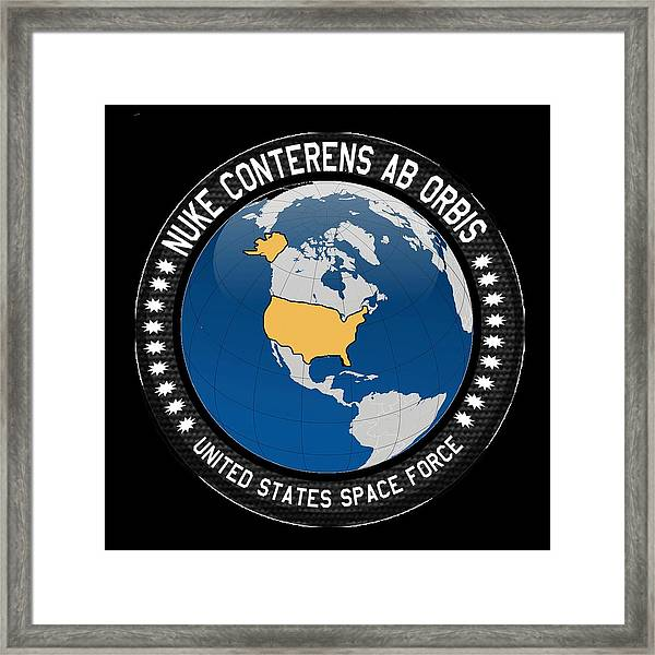 The United States Space Force Framed Print