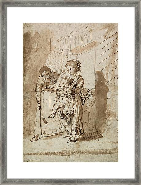 The Unruly Child Framed Print