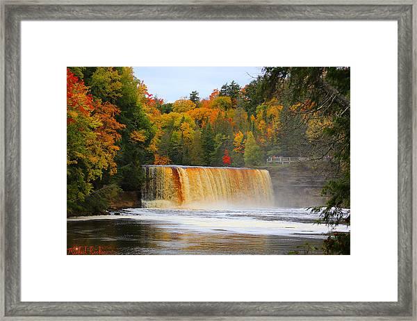 The Upper Tahquamenon Falls Framed Print