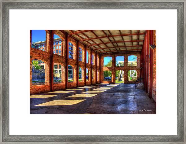 The Venue Old Mill Wedding Venue Reedy River South Caroline Art Framed Print