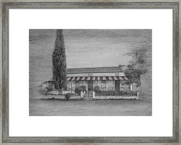 The Victorian House Museum Framed Print