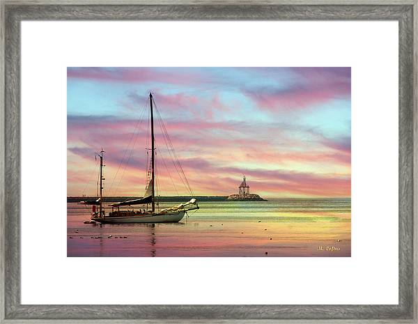 The View From Rocky Neck Framed Print