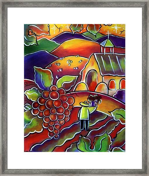 The Vineyard Framed Print