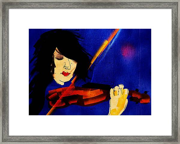 The Violinist Framed Print