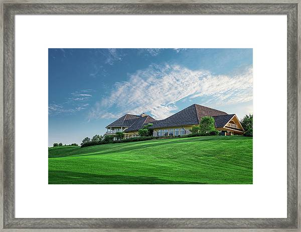 The Virtues Golf Course Clubhouse Framed Print