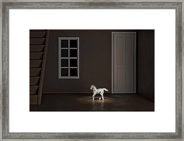 The Visit Framed Print