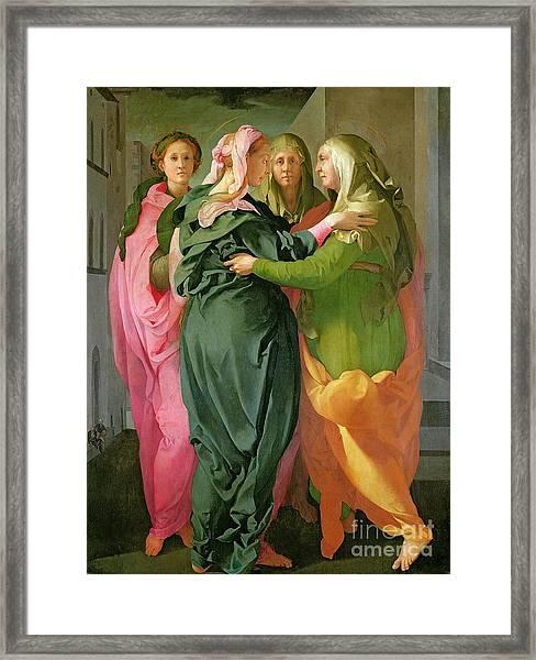 The Visitation Framed Print