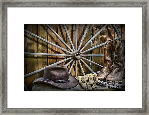 The Wagon Master Framed Print
