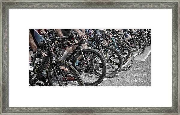 The Waiting Game Framed Print by Steven Digman