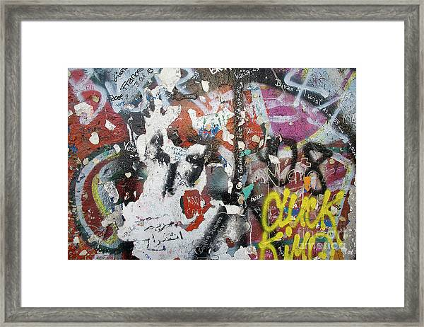 The Wall #11 Framed Print