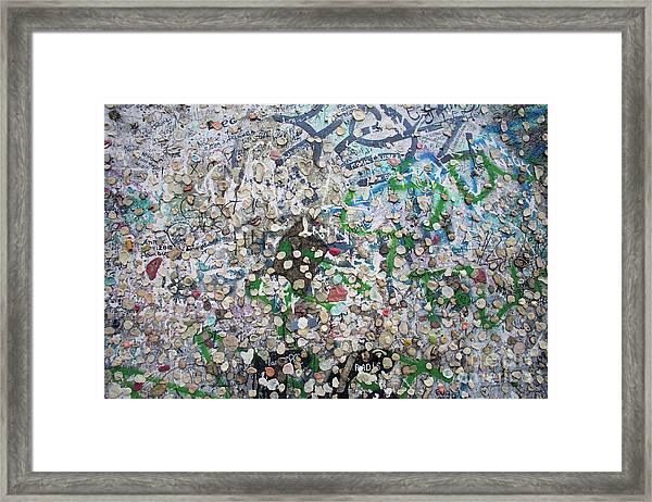 The Wall #3 Framed Print