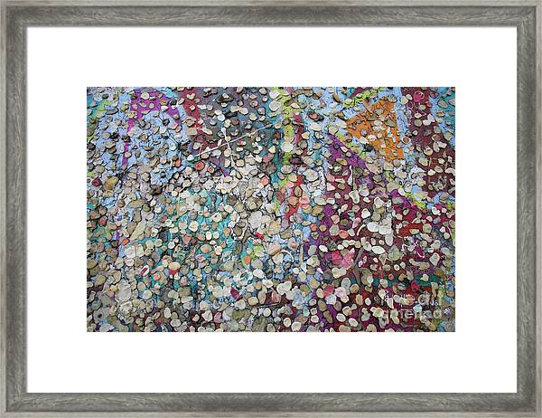 The Wall #4 Framed Print