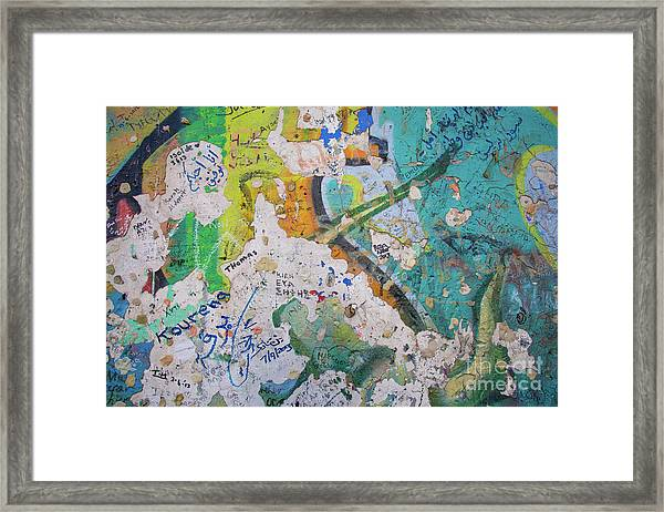 The Wall #8 Framed Print